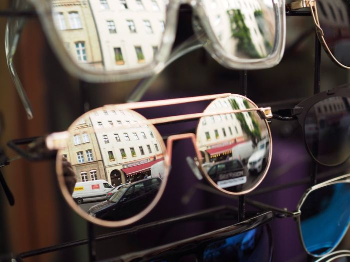 Berlin Reflection Sunglases 😎 Berlin Car Land Vehicle Transportation Mode Of Transport No People Close-up Indoors