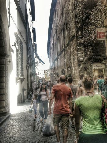 Lucca 2013. HDR Architecture Italy People