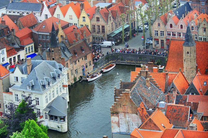 Travel Urban Landscape Brugge, Belgium Brugge Oldtown Historical Building Historic City