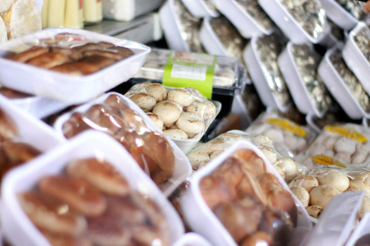 Food Food And Drink Healthy Eating Freshness Market Indoors  Close-up Mushroom Mushrooms 🍄🍄 Ceagesp Shitake Shimeji Champignons