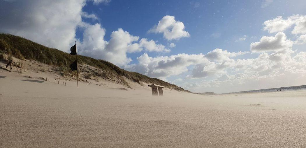 Ruhepol Sand Dune Sand Desert Hill Summer Beach Adventure Sky Landscape Cloud - Sky