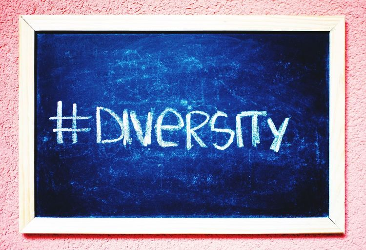 Diversity Blackboard  Diversity Equality Rights For All
