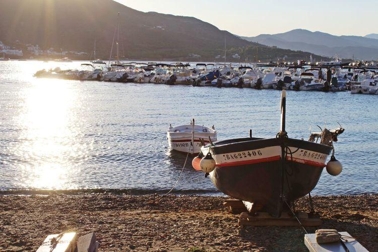First Eyeem Photo Light Port De La Selva Catalunya Sea And Sky Seascape Sailing Beautiful Nature Beautiful Day