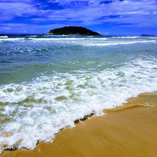 Sea Beach Water Wave Nature Beauty In Nature No People Close-up Day Sand