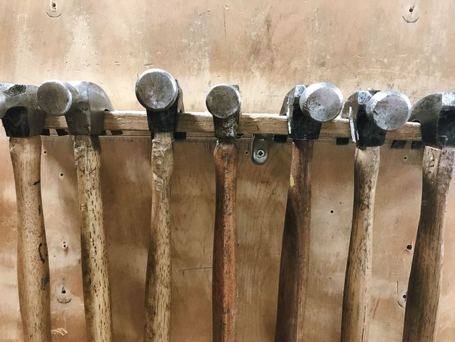 Metal Day No People Rusty Outdoors Close-up Hammer Hammers Hammer Time Construction Carpentry Carpenter Woodshed Tools Work Tool Workshop Woodworking Abundance Toolbox Shop Industry Claw Clawhammer Hanging