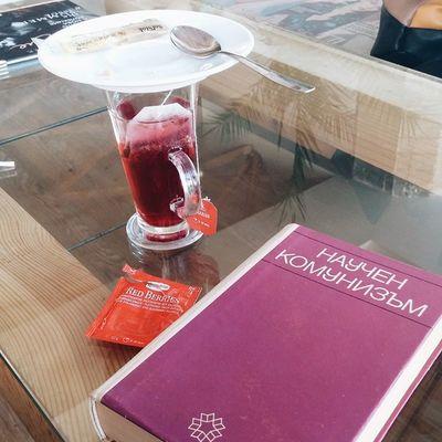 Научен комунизъм и чай ягодка... Идилия в червено.