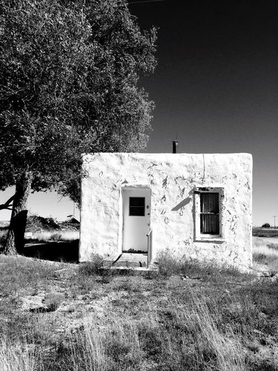 """Little White Adobe"" A little whitewashed adobe abode in the tiny village of Cedarvale, NM, USA. Adobe Adobe House Tinyhouse Smallhouses Rural Rural Scenes Rural America RuralTreasures  Ruralphotography Rural Exploration"