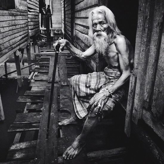 Old Man. Blackandwhite Black And White Black & White Potrait