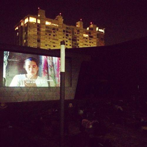 Cine al aire libre en la Cineteca Outside Cinemaparadiso Proyectodf Igers Mexico Igers Igersdf Igersgdl Igersmty Igersmexico Df
