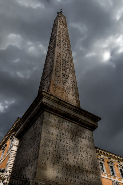 Lateran Obelisk Bushes Church Cloud Clouds And Sky Contrast Eye4photography  EyeEm Best Edits EyeEm Best Shots Historical Sights History Italy Laterano Monuments Obelisk Rome Vatican