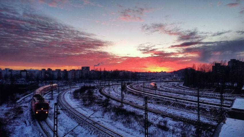 Prenzlauerberg Sonnenuntergang Sunset
