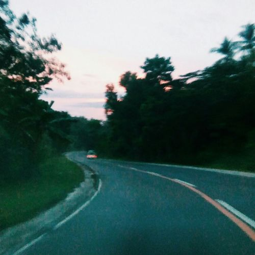 The Journey Is The Destination Philippines Phoneshot Asian Girl Sunset Drive Roadtrip Adventures Lostplaces April Showcase Nature Photography Tree And Sky