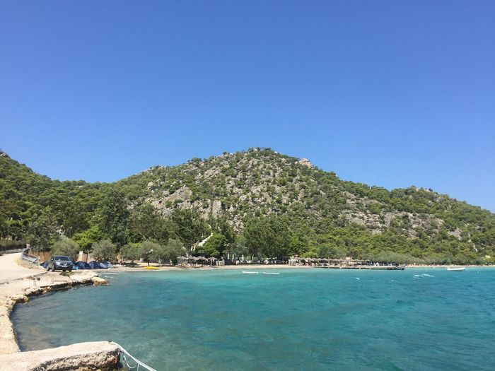 Somewhere near Corinth. (1) Greece Photos Loutraki Blue Clear Sky Nature Scenics