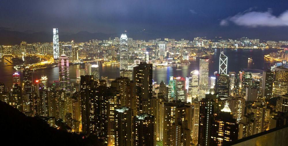 Cityscapes HongKong Thepeak Nightphotography Travel Citylights
