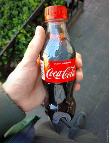 Human Hand Cocacola Publishing Store Market Beverage Soda Refresco Forsale