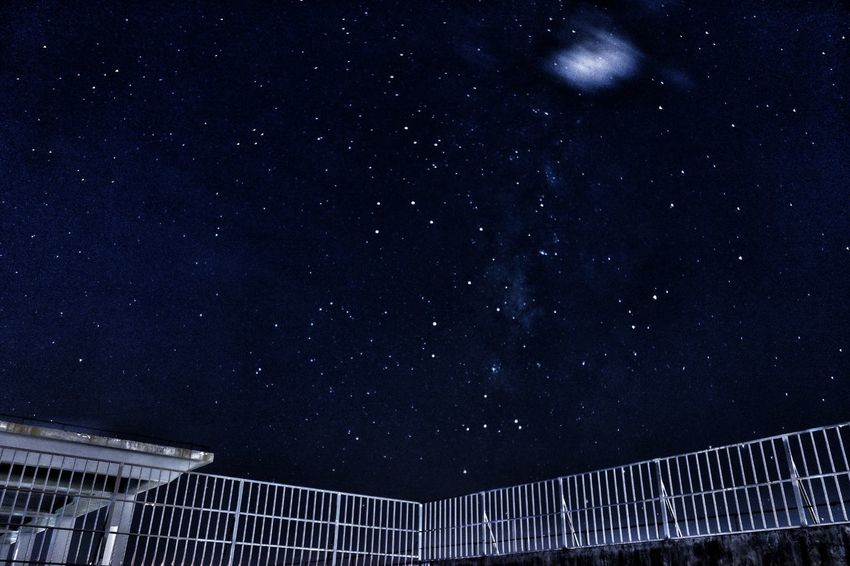 The roof of my university💫🌟🌟🌟🌟Star - Space Night Astronomy Infinity Constellation Galaxy Star Field Sky Space Low Angle View Outdoors No People Milky Way Space Exploration Nature Scenics Starry Beauty In Nature Star Trail EyeEmNewHere The Week On EyeEm