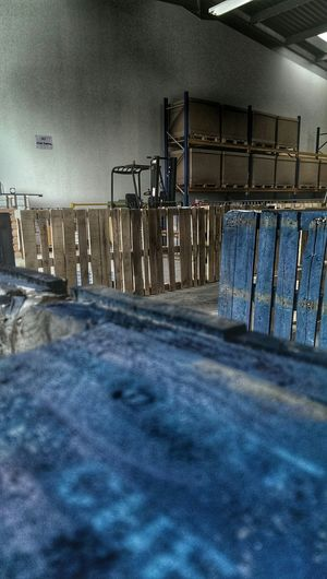 Refresher Passed FLT Forklift Forklift Porn Wooden Pallet Blue Soaking It All In Hdr Edit