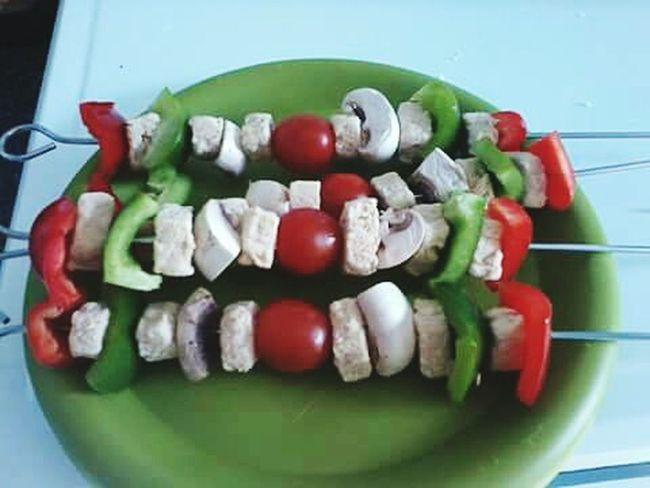 Quorn Skewers Kebabs Tomato Tomatoes Mushroom MushroomsPepper PeppersYummy Vegetarian Vegetarian Food Veggie Vegetables Vegetarianfood Vegetarianlife Vegetarian Lifestyle  Food Barbecue Healthy Food Healthy Eating Healthy Choice Healthy Lifestyle Healthyfood Healthyeating