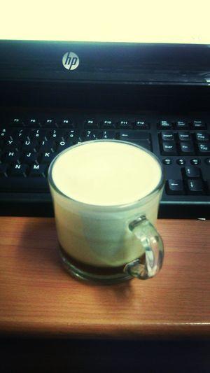 Bueno para empezar y desvelada despues de una guardia tranquila un bune cafe ??