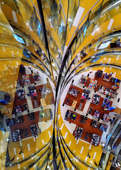 Architecture Reflection Architecture Building Interior Design Mobilephotography Street Street Art Streetphotography Yellow