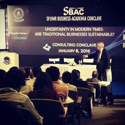 Spjimr Sbacishere Consultconclave