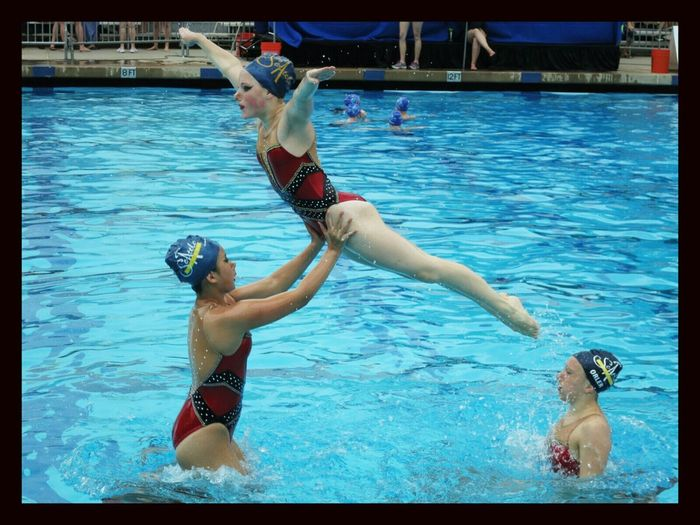 Synchronized Swimming Jump National Competition Usa Synchro