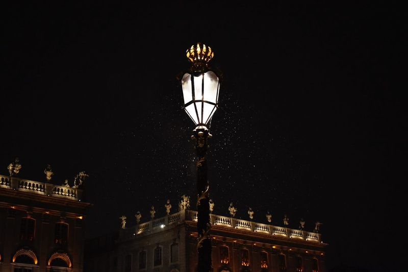 Place Stan' Nancy 🇫🇷 Night Place Stan' Light And Shadow Winter Snow Nikon Place Stanislas, Nancy Illuminated Night Low Angle View Built Structure Architecture Lighting Equipment No People Electric Light Light Travel Destinations Building Exterior Street Light