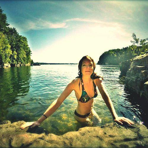 Swimming Vermont_scenery Lake Champlain Summer