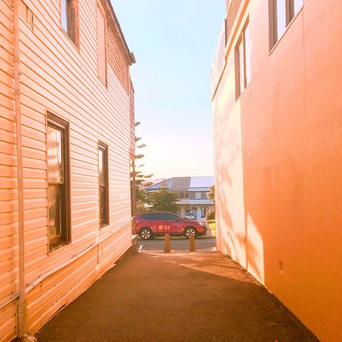 Building Exterior Architecture Built Structure Sunlight Outdoors No People City Sky Day Road Australia
