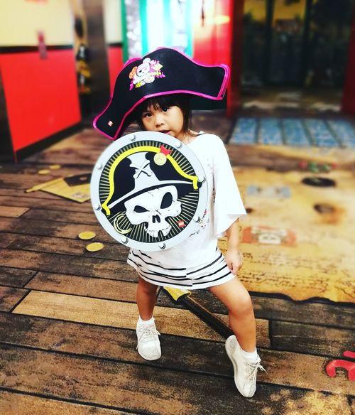 Legoland Pirate childhood