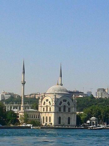 Islam ıslam Is Beautiful Mosque Ortaköy Mosque, İstanbul, Turkey Islamic Art Sea And Sky Blue Islamic Architecture Islamicart