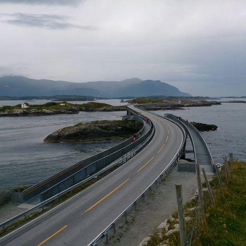 Sightseeing Atlanterhavsveien Norway Eide På Nordmøre