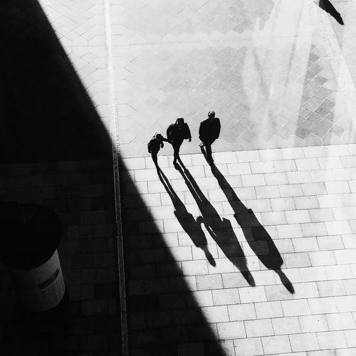 People Walking Together