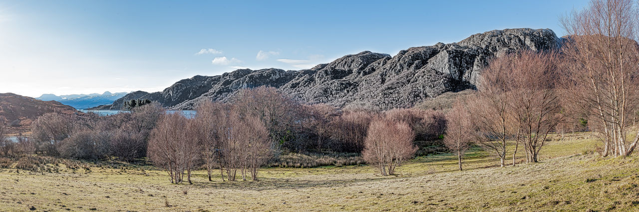 Nature Scotland 💕 Arid Climate Beauty In Nature Clear Sky Day Desert Grass Holiday Destination Landscape Mountain Mountain Range Nature No People Outdoors Photo Merge Photography Scenics Sky Tranquility Tree Trees And Sky Water