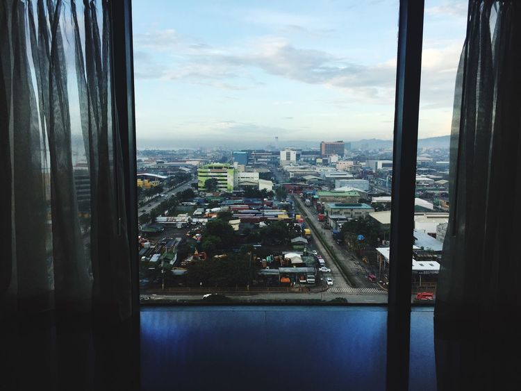 Good morning Cebu City Cityscape City Sky Architecture Day Indoors  Cloud - Sky Aerial View
