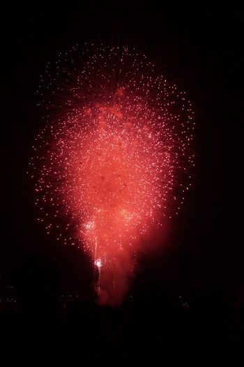 Red Fireworks Red Feuerwerk 2025 2024 2023 2022 2021 2021 2020 New Year Nobody Night Arts Culture And Entertainment Illuminated Firework Motion Exploding Firework Display Event Sky Celebration Low Angle View Glowing Light Long Exposure Firework - Man Made Object No People Red Sparks