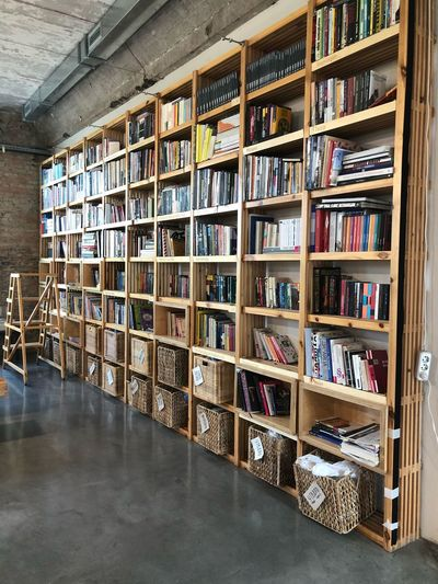 Culture Art Gallery Vladivostok EyeEm Selects Shelf Publication Book Bookshelf Education Large Group Of Objects Indoors  Library Arrangement Literature Learning Collection Choice In A Row No People Variation Abundance Flooring Order