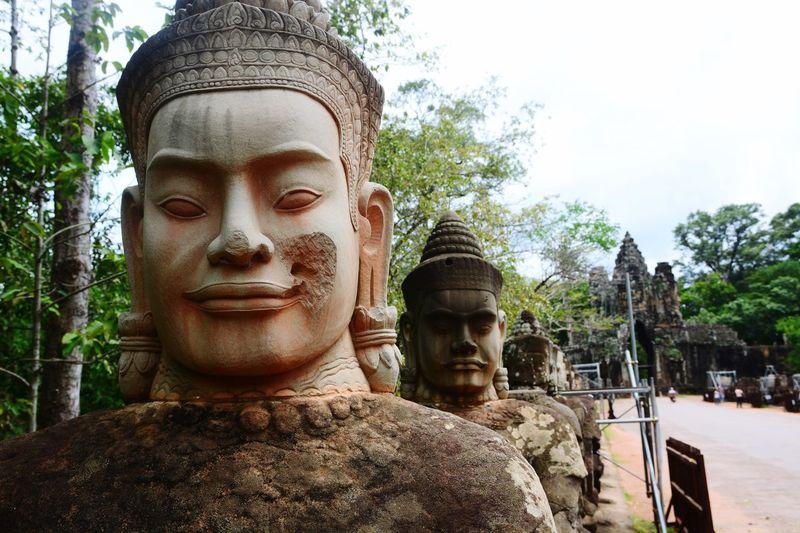 Statue of a buddha statue