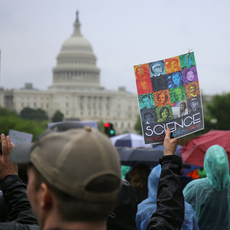 Protesters and activists march to the United States Capitol during the March for Science in Washington, D.C. Activism Activist  Activists Capitol Crowd Day DC District Of Columbia Government Government Group Of People Large Group Of People March March For Science Outdoors People Politics Politics And Government Protest Protesters Protestor Rally Science Signs United States Capitol Building