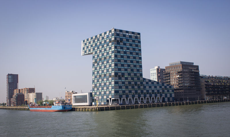 Architecture Building Exterior Built Structure City Cityscape Clear Sky Day Holland Modern Nature Netherlands No People Outdoors Rotterdam Rotterdam Architecture Rotterdam Harbor Sky Skyscraper Urban Skyline Water