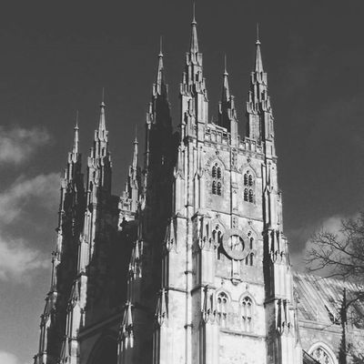Followers Blackandwhite Igers Likeforlike Love Life Followme Ifollowback Cathedral Canterbury England Clouds Phptography Throwbackthursday  Pictute Instagram Inspiration Instagood