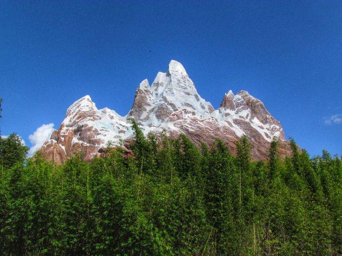 Walt Disney World Disney's Animal Kingdom Orlando Orlando Florida Florida Expedition Everest Mountain HDR