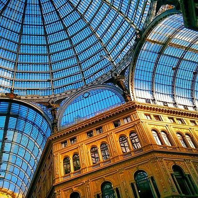 Naples Italy, A beautiful and diverse city, The Galleria Umberto at Via San Carlo. Naples the oldest city in the western world. Naples Napoli Italy Italia