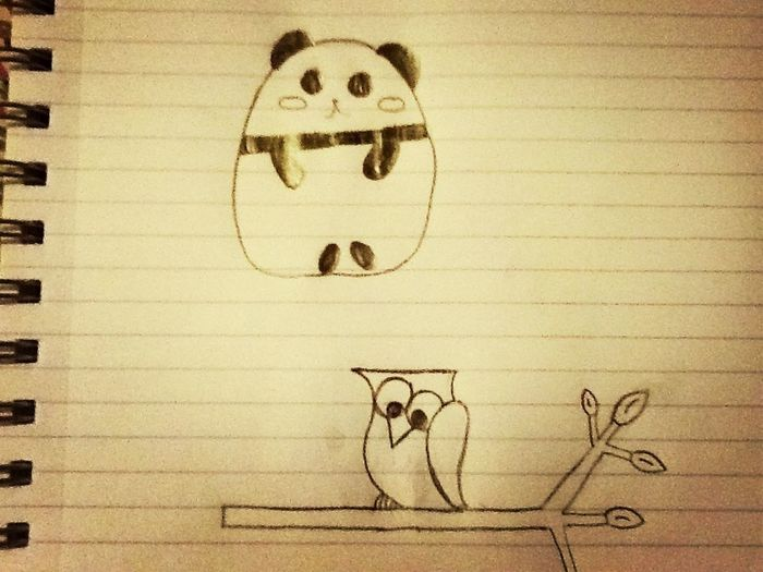 What I Drew In Class Today Cus I Was Super Borde XD Lol