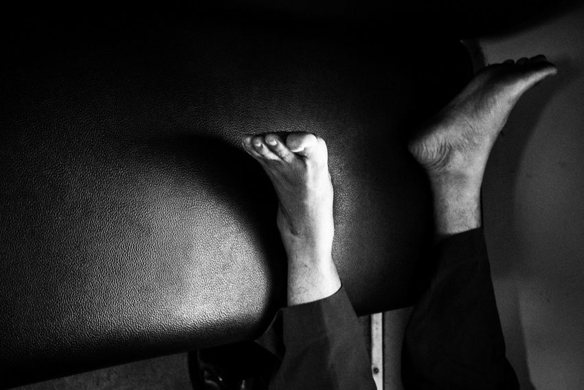 Praying. Local Train, Bandung, Indonesia, 2016 Blackandwhite Photography Two Is Better Than One Iamindonesia Blackandwhite Indonesia_photography Streetphotography Streetphoto_bw Fineart_photobw Black And White