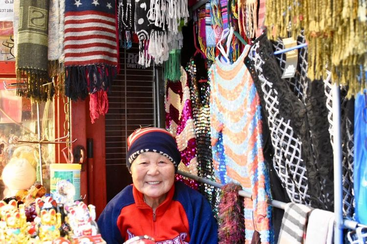 Retail  Market One Person Portrait Market Stall Smiling International Women's Day 2019 Clothing For Sale Looking At Camera Small Business Retail Display Real People Lifestyles Adult