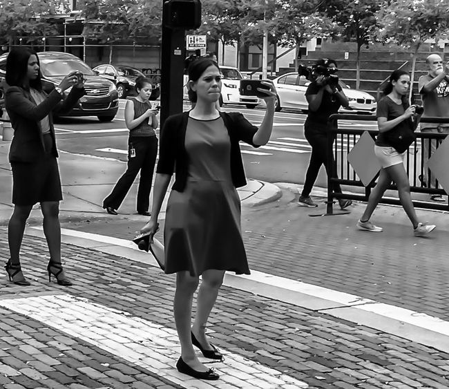 Race for the shot.. Blackandwhite Photography IPhoneography Street Photography Streetphotography