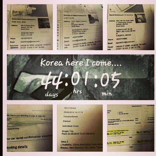 Sorting out details....really can't wait @shao_tingting Kamarihidris Koreahereicome 33rdburfdayinkorea Palipali