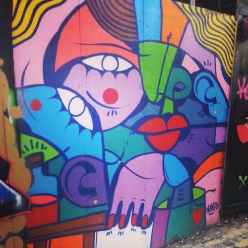 Hunto Picassoalike GraffitiTour Shoreditch
