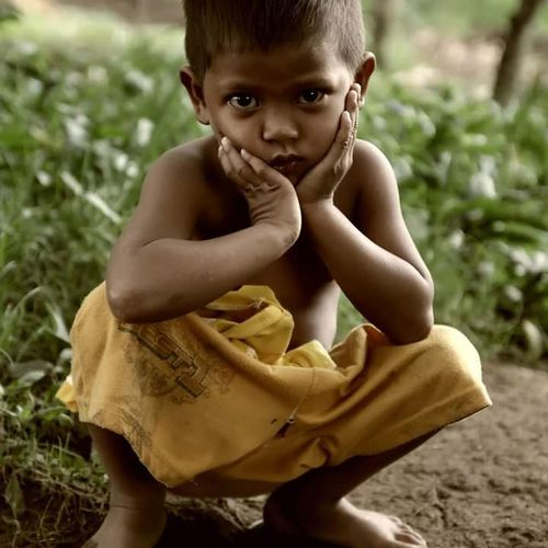 Don't be sad Person Face Sad Face Child 43 Golden Moments